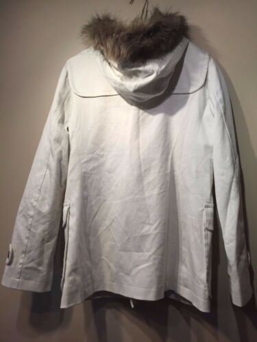 Fur Hooded Størrelse Coat Gap Womens 543215 Duffle Faux M Nwt tIUwxx