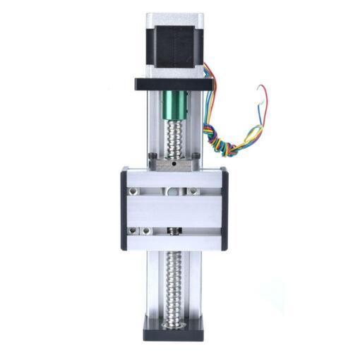 Automatisch Lineareinheit Linearantrieb Linearführung 100mm Hub mit Nema23 Motor
