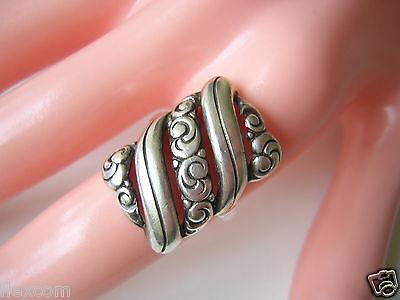 Fine Rings Shock-Resistant And Antimagnetic Antiker 835 Silber Ring Kissenform 5,2 G/rg 53 Waterproof Fine Jewelry