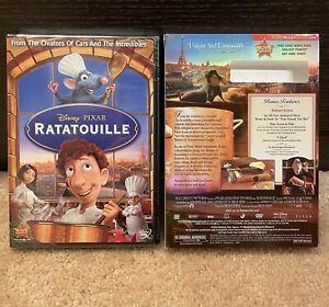 NEW! RATATOUILLE DVD 2007 Disney Pixar Brand New w/ Slipcover Sealed Kids Movie