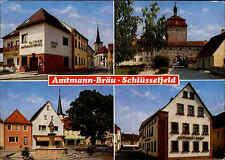 Schlüsselfeld Steigerwald Bayern Hotel Amtmann-Bräu color Mehrbild-Postkarte
