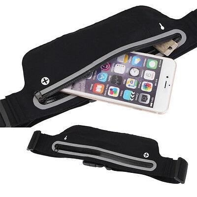 Unisex Sports Jogging Running Cycling Waterproof Waist Belt Pack Bag Pouch