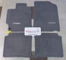 Toyota Camry 2012 2014 Ash Gray Carpet Floor Mats Genuine Oem Oe