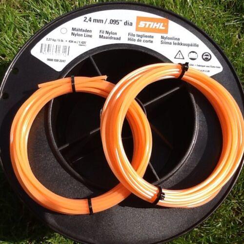 Genuine Stihl 2.4mm x 5 Metres Round Strimmer Brushcutter Line Cord