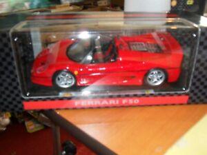 Maisto-Shell-Collezione-Ferrari-F50-1995-Escala-Modelo-1-18