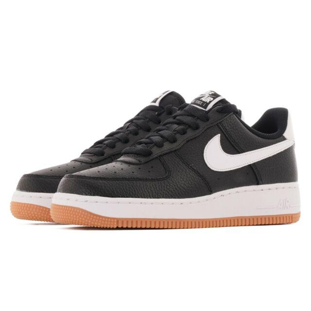 Herren Nike Air Force 1 07 2 Schwarz Weiß Wolf Grau Sportschuhe ci0057 002