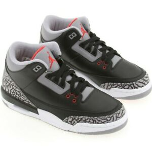 029910e46db US sz 6.5 Nike Air Jordan 3 III Retro GS Black/Cement Countdown ...