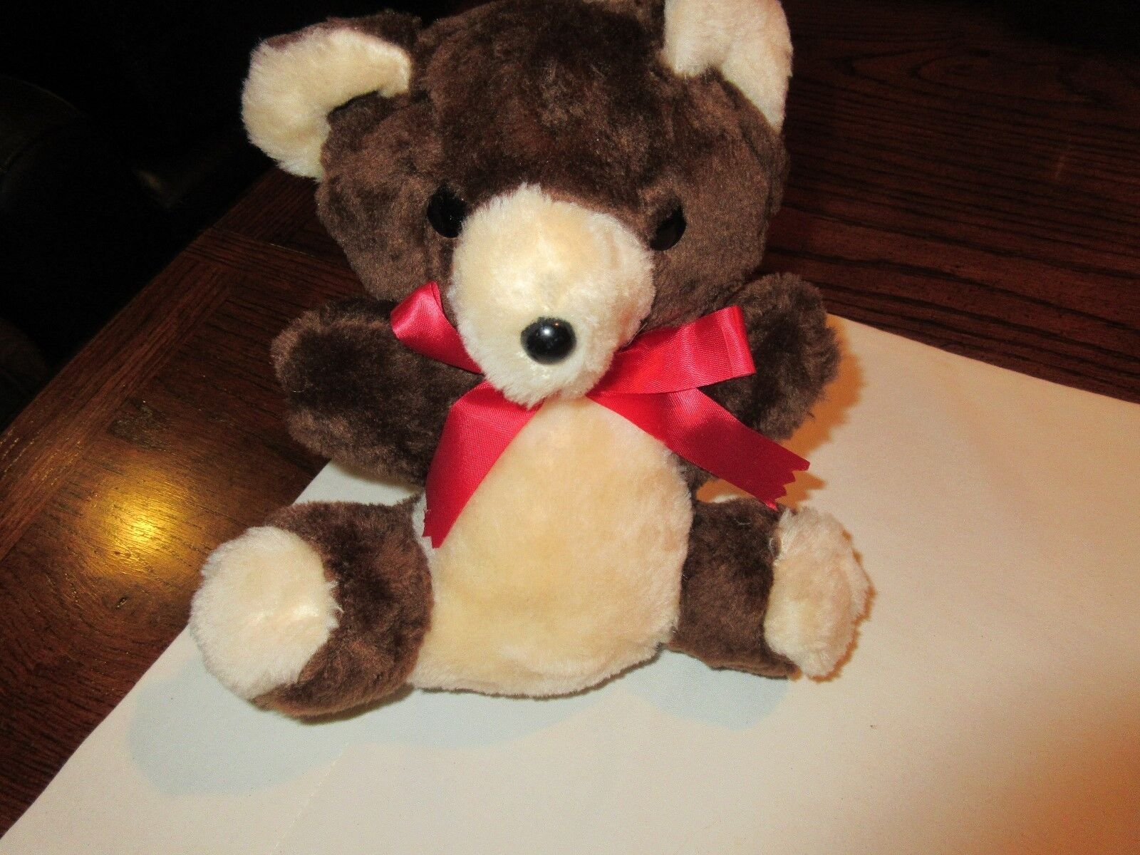 "Stuffed Animals, Bear, B J Toy Co, Inc., Vintage , 9"" x"