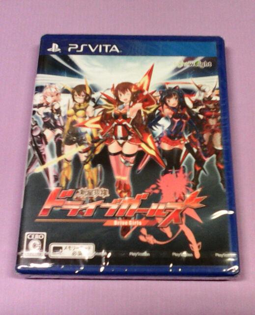 Videogame PSVITA PS Vita Shinsei Batteki Drive Girls SONY JAPANESE IMPORT SEALED