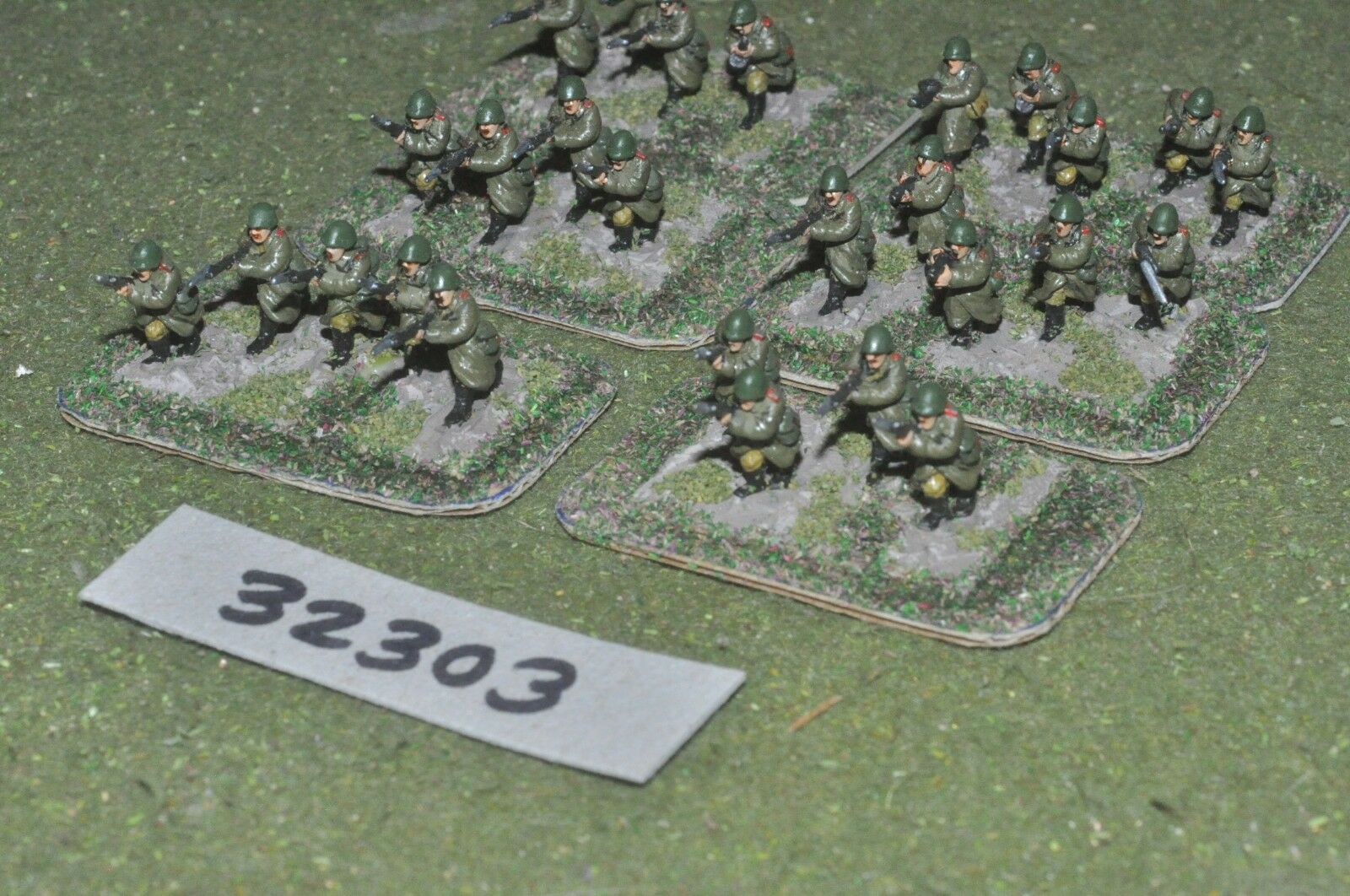15mm WW2   russian - section 24 figures - inf (32303)