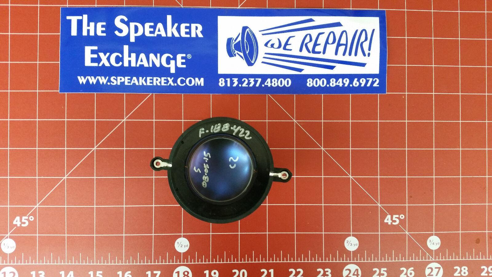 EV Electro Voice F.01U.280.468   81161XX OEM Diaphragm DH2, DH1506 + FREE SHIP