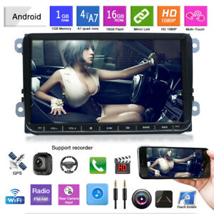 9-034-Autoradio-Bluetooth-Android-GPS-Navigation-USB-For-VW-GOLF-5-V-PASSAT-Variant