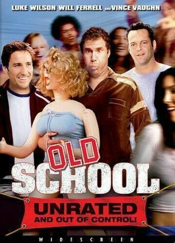 Old School (2003 Will Ferrell) (Unrated Version) DVD NEW