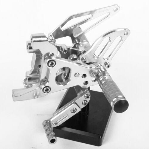 Adjust Rearset Foot Pegs CNC For Ducati  848 848EVO  899 1199 1098 1198 999 949