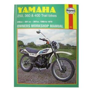 Details about Workshop Manual Yamaha DT250 75-79, RT360 70-73, DT360, on