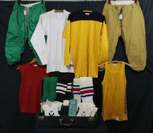 VTG 1940s Lot Football Basketball Uniforms Jerseys