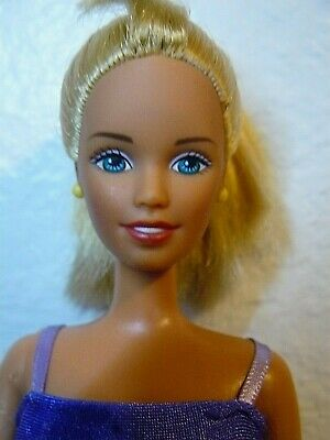 Mattel Barbie doll Twist /'N Turn blond,curl extra long hair No Clothes 1990s