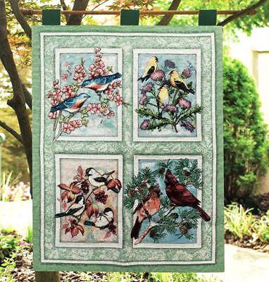 Winter Songbirds Christmas Cardinals /& Chickadees Tapestry Wall Hanging Bellpull