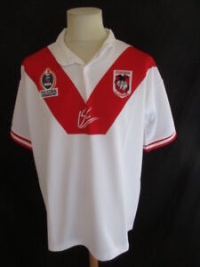 Taille Australie De Illawarra St Rare Georges Maillot Rugby L Xiii Nrl  z8np6q 7a9a5ed26b14