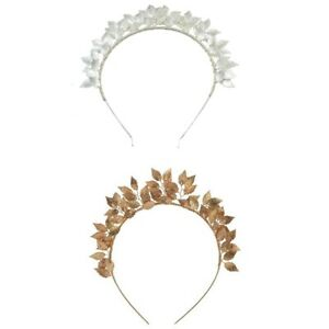 Fashion-Leaf-Flower-Hoop-Crown-Gold-Silver-Headband-Bridal-Headdress-WeddinP7S5