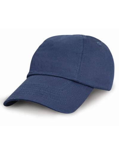 RESULT CHILDREN/'S BASEBALL CAP LOW PROFILE 100/% COTTON SPORT HOLIDAY SUN COLOURS