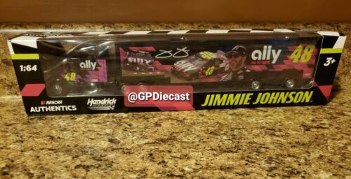 2020 Nascar Authentics Jimmie Johnson #48 Ally Chevrolet 1//64 Diecast Hauler