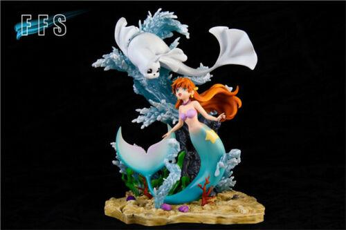 Mermaid Water ballet Statue Figurine Model GK Resin Collections FFS Presale