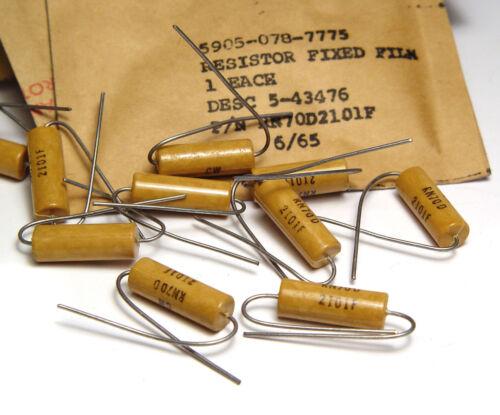 gli strumenti di misura-qualità NOS 2.1 K 20x resistenza Precisione rn70d