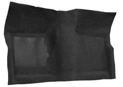 1969-1973 Mustang 2 Piece BLACK MOLDED CARPET Set w Padding 100/% Nylon New