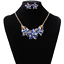 Women-Chunky-Fashion-Crystal-Bib-Collar-Choker-Chain-Pendant-Statement-Necklace thumbnail 50