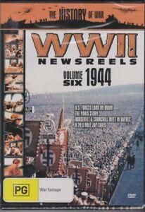 G22-BRAND-NEW-SEALED-World-War-2-Newsreels-Volume-6-1944-DVD