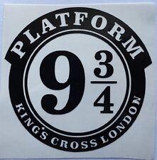 Harry Potter Platform 9 3//4 Macbook Laptop Car Wall Vinyl Sticker 205