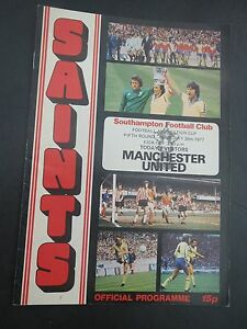 Southampton V  Manchester United  FA Cup 19767 - <span itemprop=availableAtOrFrom>Bolton, Greater Manchester, United Kingdom</span> - Southampton V  Manchester United  FA Cup 19767 - Bolton, Greater Manchester, United Kingdom