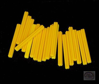 20x lego ® Technic 32073 cruz-eje 5l amarillo nuevo Yellow