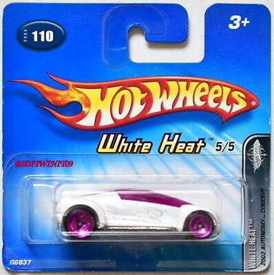Modellbau Hart Arbeitend Hot Wheels 2005 Weiß 2002 Autonom Konzept Short Karte Klar Und GroßArtig In Der Art Autos, Lkw & Busse