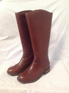 ae9c1631259 Details about UGG AUSTRALIA WOMENS SELDON RIDING BOOT DARK CHESTNUT LEATHER  SIZE 5.5 NEW