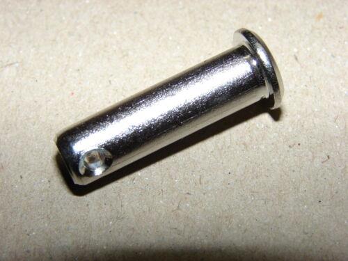 GP1,80-1,95€//St 2x Steckbolzen Bolzen 8mm Edelstahl 1.4401 f Ringsplint 19mmD