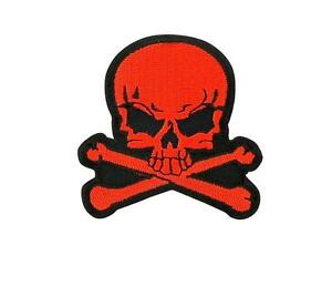 Patch-ecusson-brode-backpack-tete-de-mort-skull-moto-thermocollant-R7