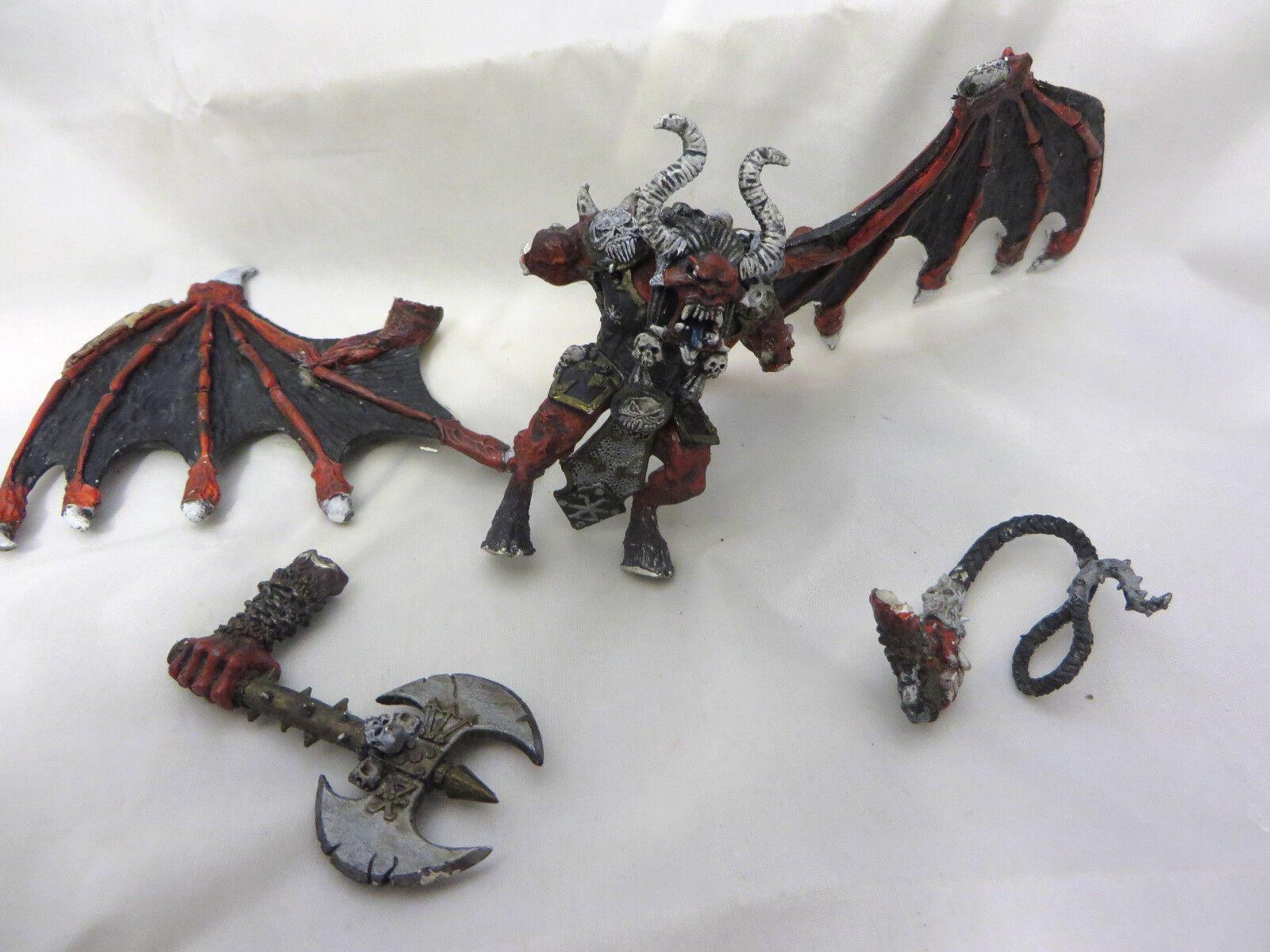 Warhammer Chaos Greater Demon Daemon Daemon Daemon Khorne metal oop 1a4848