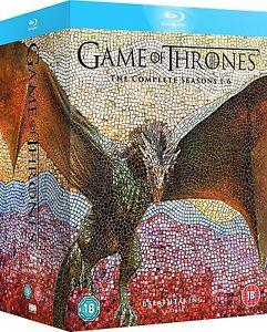 Game-of-Thrones-Seasons-1-6-Box-Set-Blu-Ray-BRAND-NEW-Free-Shipping