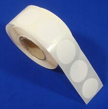 1000 White Self Adhesive Price Labels 34 Stickers Tags Retail Store Supplies