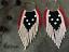 Hoop-earrings-Long-Seed-Bead-Earrings-Fringe-Earrings-Beaded-Shoulder-Duster thumbnail 3