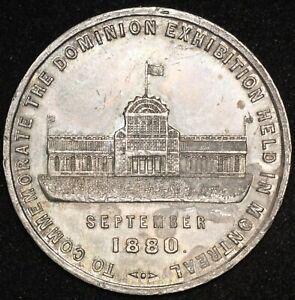 CANADA-Quebec-Montreal-1880-Dominion-Exhibition-Leroux-1504-Medal-Inv-4783