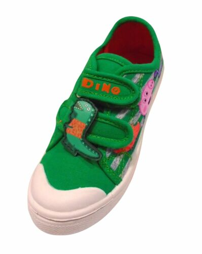 George Peppa Pig Boys Canvas Pump Shoes
