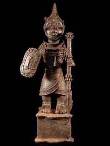 Bronze-Krieger-Nigeria-Benin-12-2-kg