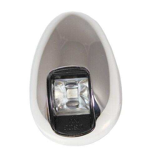 10-14V Stainless Steel Vertical Mount LED Navigation Light Side Marker Marine
