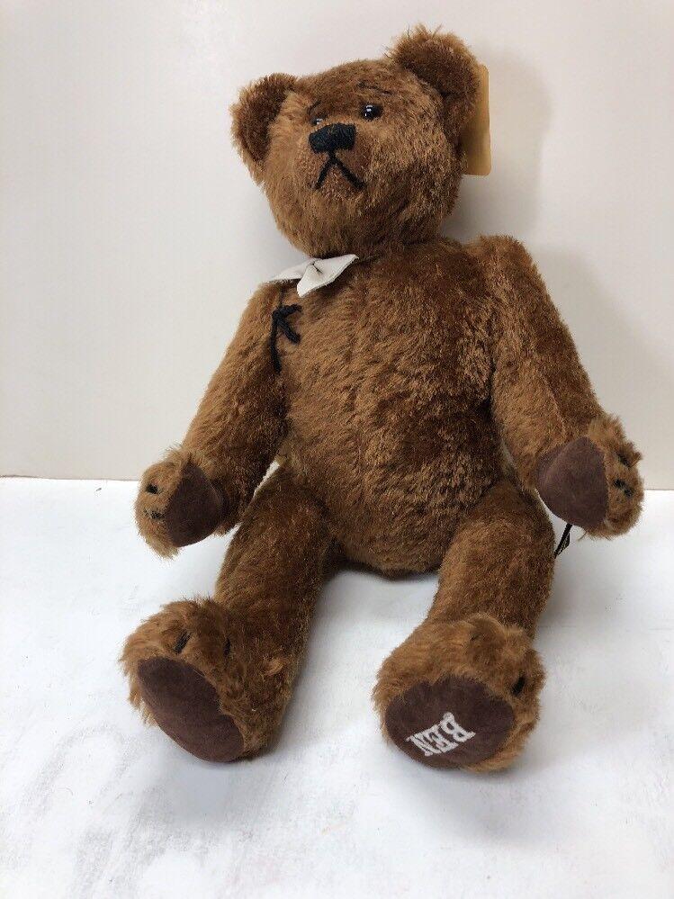 "13"" Johanna Haida ""Ben"" Growler Bear Limited Edition 16th Of 400 Handmade"