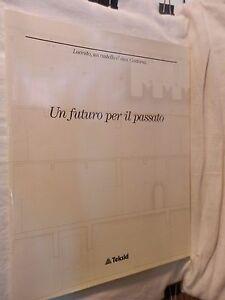 UN-FUTURO-PER-IL-PASSATO-Giuliana-Brugnelli-Biraghi-Teksid-1990-libro-di-da-per
