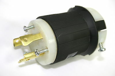 250V Power Cables Qty:3 30A with Hubbell HBL2621 connector
