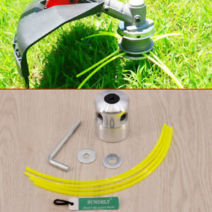 Details about Petrol Strimmer Bump Feed Line Spool Brush Cutter Grass  Replacement Trimmer Head